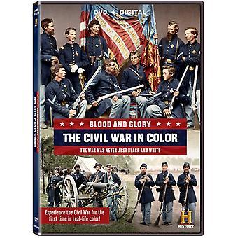 Veren & Glory: Väri [DVD] Yhdysvallat sisällissota tuo
