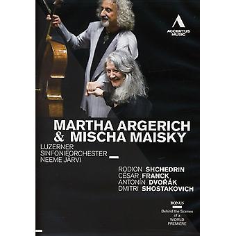 Martha Argerich & Mischa Maisky [DVD] USA importere