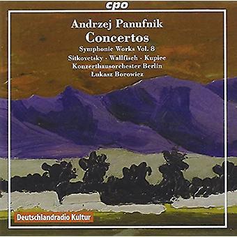 Panufnik / Sitkovetsky / Wallfisch - obras sinfónicas 8 [CD] USA importación