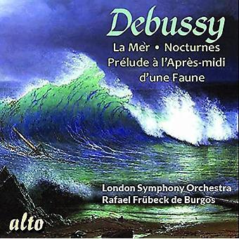 London Symphony Orchestra Rafael Fruhbe - Debussy: La Mer; Nocturnes; Prelude a L [CD] USA import