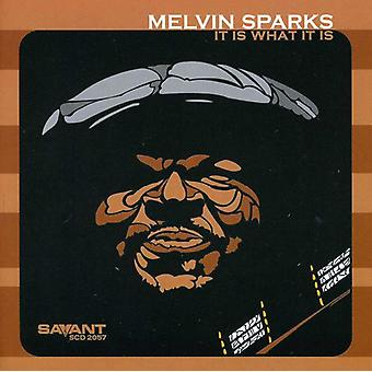 Melvin Sparks - It Is What It Is [CD] USA import