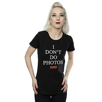 Justin Bieber Women's I Don't Do Photos T-Shirt