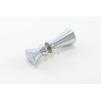 Shower Door Knob Replacement for Glass Door - Solid Stainless Steel