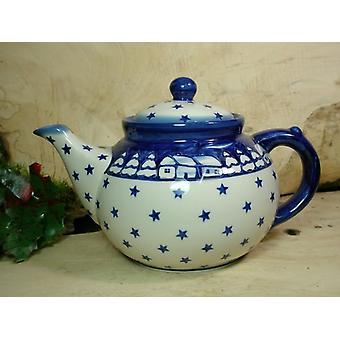 Ceainicul, a doua alegere, 1200 ml, semnătura 100-ceramică poloneză-BSN 22049