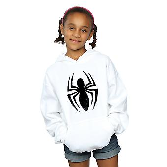 Marvel csajok Spider-Man Ultimate Spider logo kapucnis