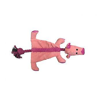 Good Boy Raggy Crinkle Pig Dog Toy