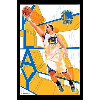Golden State Warriors - Klay Thompson Poster afdrukken