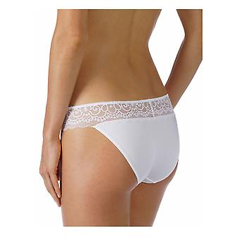 Mey 79802 Women's Allegra Solid Colour Lace Knickers Panty Full Brief