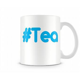 Хэш печатных кружку чая