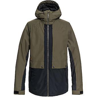 クイックシルバー メンズ TR 野望暖かい雪スキー パーカー ジャケット