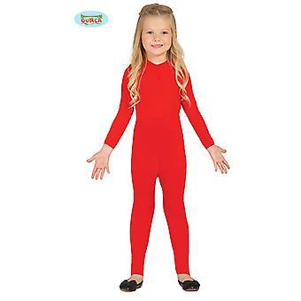 Guirca av elastisk röd kropp kostym för barn