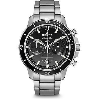 Montre Bulova marine star chronographe 96 b 272