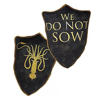 Game of Thrones Greyjoy Sigil Throw Pillow