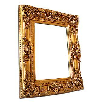 30x40 cm or 12x16 inch, frame in gold in Italy motif