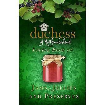 Księżna Northumberland w książeczkę z dżemy, galaretki i zachowuje