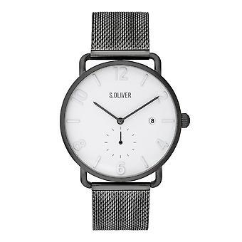 watch orologio da polso in acciaio inox s. Oliver maschile SO-3719-MQ