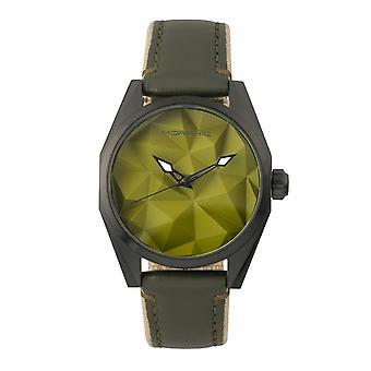 M59 mórficos Series superpuestas de cuero lona-banda reloj - oliva
