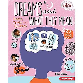 Unelmia ja mitä ne tarkoittavat: tosiseikat, Mielenkiintoiset ja tietovisat (Mind Games)
