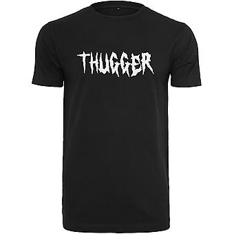 Merchcode shirt - THUGGER Childrose black