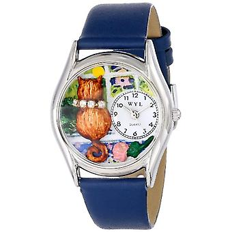 Whirlpool WHIMS-S0120007-unisex wristwatch, multicolored leather strap