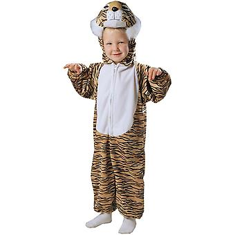 Plush Tiger Toddler Costume