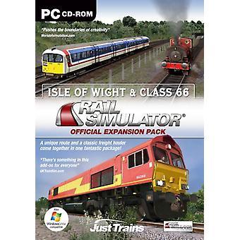 Isle Of Wight Classe 66 pour Rail Simulator Railworks Railworks 2 (PC) - Nouveau