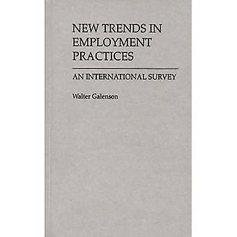 Novas tendências no mercado de trabalho pratica um inquérito internacional por Galenson & Walter