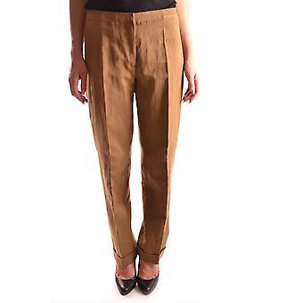 Dries Van Noten Ezbc007005 Women's Beige Cotton Pants