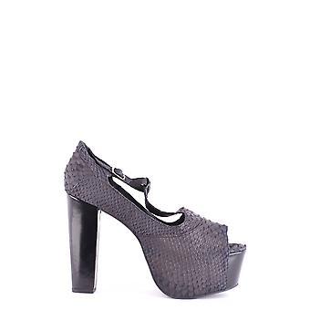 Jeffrey Campbell Ezbc132019 Women's Black Leather Sandals