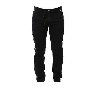 Karl Lagerfeld Klmp0004001 Pantalon en coton bleu Pour hommes;s