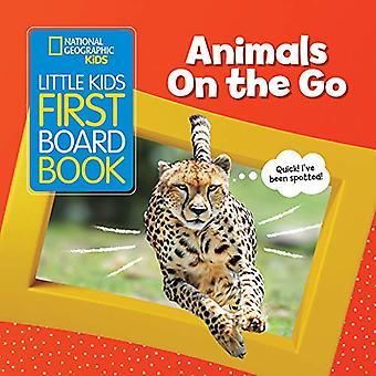 Djur på språng (little Kids första styrelse bok) (little Kids första styrelse bok) [styrelse bok]