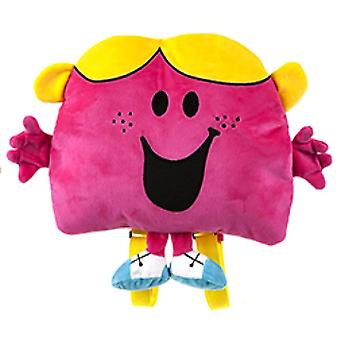 Mr. Men Little Miss Chatterbox Plush Character Backpack