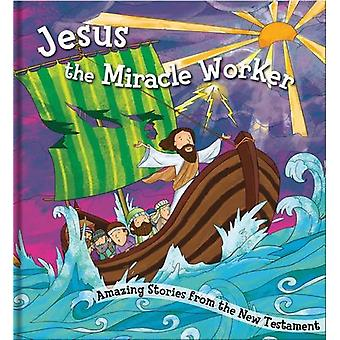 Square Cased Bible Story Book - Jesus the Miracle Worker by North Par