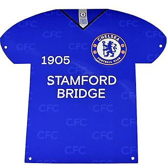 Chelsea Metal Shirt Sign