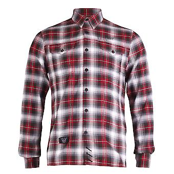 Firetrap Long Sleeve Check Rough Shirt