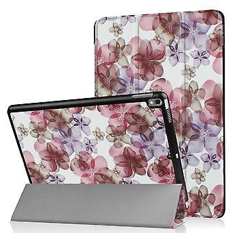 iPad Air 10.5 & iPad Pro 10.5 Slim fit tri-fold fodral- Retro Flowers