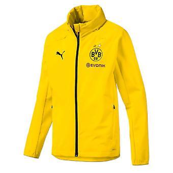 2019-2020 Borussia Dortmund Puma ploaie jacheta (galben)