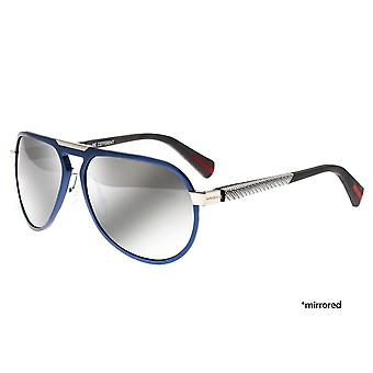 Breed Octans Titanium Polarized Sunglasses - Blue/Black