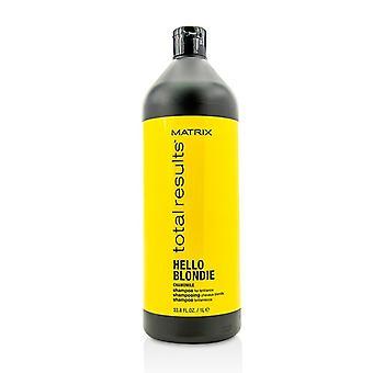Total de matrice donne Bonjour Blondie camomille shampooing (pour la Brillance) 1000ml/33,8 oz
