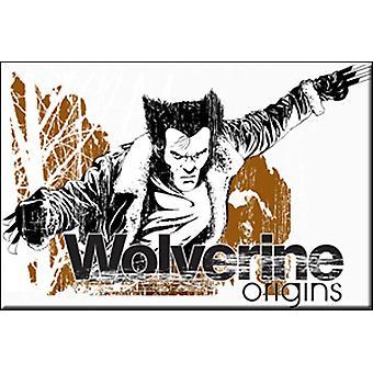 מגנט-מארוול-וולברין מקורות רישיון מתנות צעצועים m-mx-0007