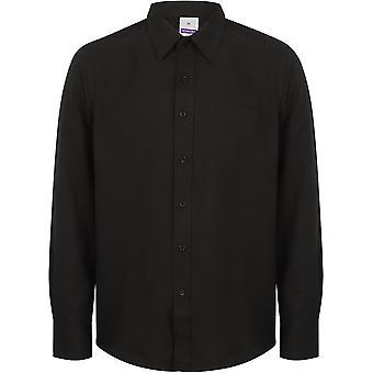 Henbury - Mens Wicking Antibacterial Long Sleeve Shirt
