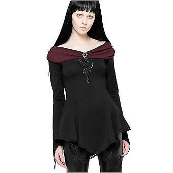 Fantasmogoria - vespertine - gothic off the shoulder top
