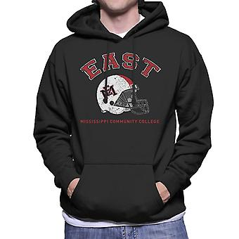 East Mississippi Community College Light Helmet Men's Hooded Sweatshirt