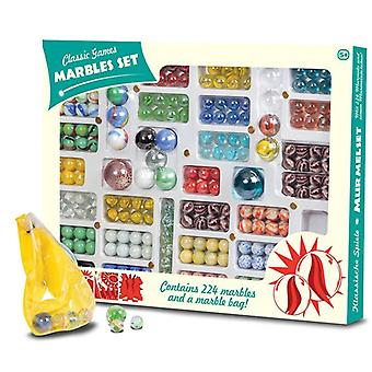 224 Piece Classic Marble Set