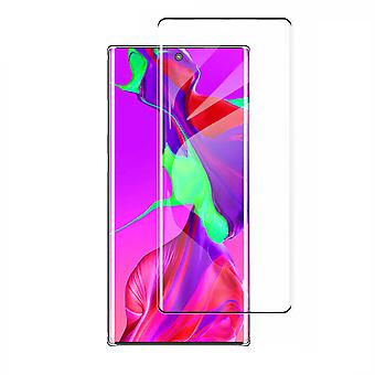 Tempered Glass Curved Samsung Note 10 Plus Noir (Demi-colle)
