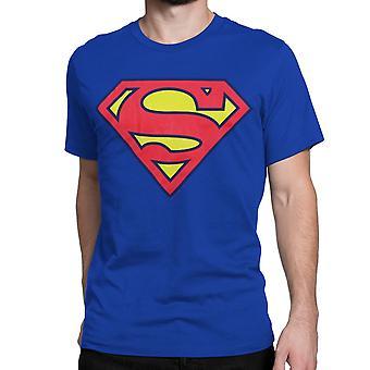 חולצת טריקו כחול מלכותי סופרמן