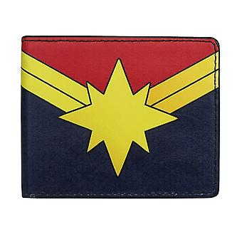 Portefeuille Captain Marvel Logo Bi-Fold