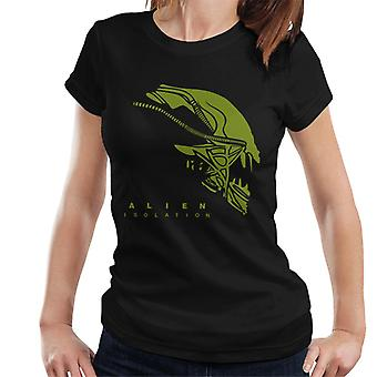 Alien Isolation Xenomorph Head Women's T-Shirt