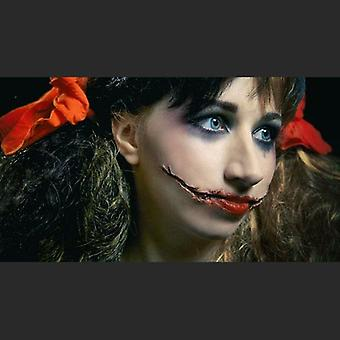 Exit skin - zombie grin - movie make-up kit