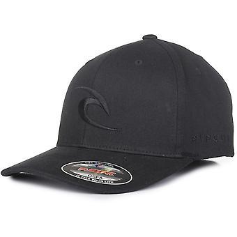 Rip Curl Tepan Curve Peak Cap in Black